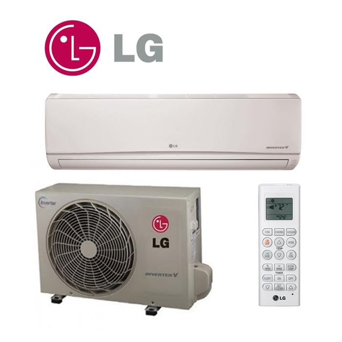 Lg Heating And Cooling Wall Units : Lg btu seer mega inverter mini split system
