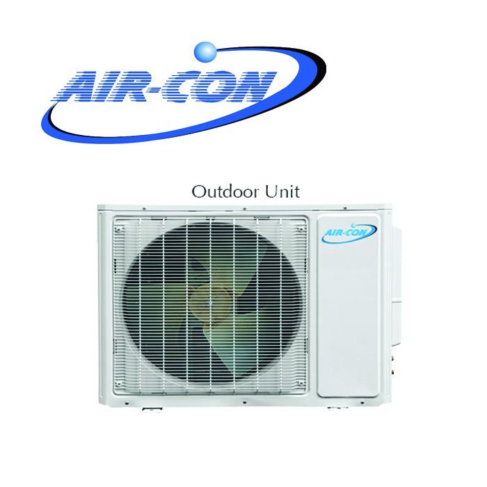 Air con blue series 18k 18000 btu ductless mini split for 18000 btu heat pump window unit