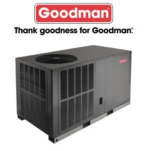 Goodman 2 TON - 16 SEER - Horizontal Heat Pump Package Unit