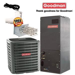 Goodman 5 Ton - 16 SEER - AC Straight Cool Split System