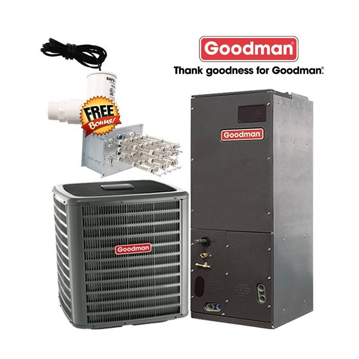 Goodman 2 Ton 14 Seer Ac Straight Cool Split System
