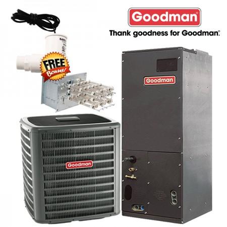 Goodman 3 Ton 14 Seer Ac Straight Cool Split System