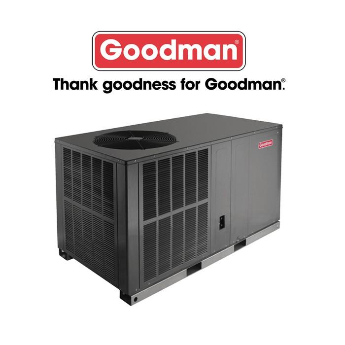 Goodman 3 Ton 14 Seer Horizontal Heat Pump Package