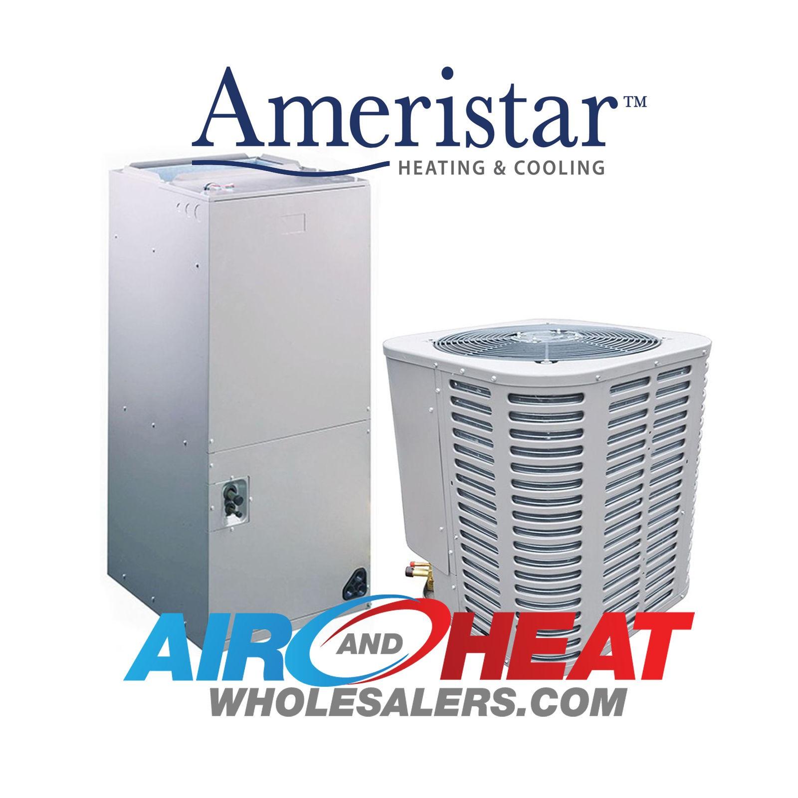 NEW - Ameristar 1 5 TON AC Heat Pump Split System-14 Seer-10